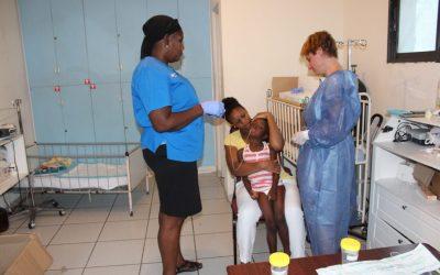 Bei 8 von 12 Kindern wurde Tuberkulose diagnostiziert