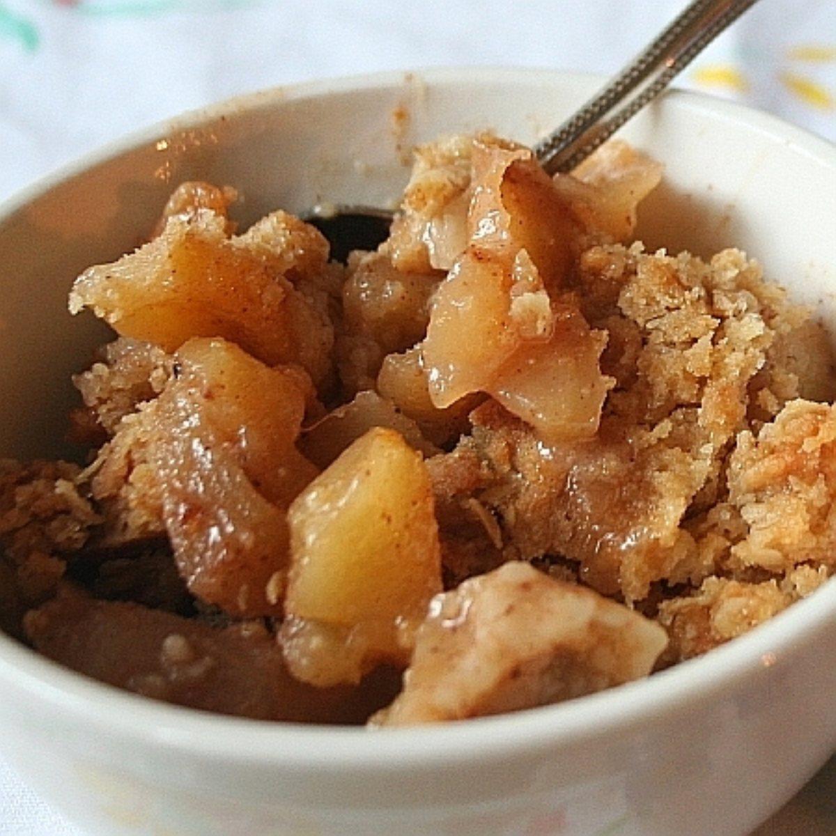 recipes course desserts fruit crisps apple crisp