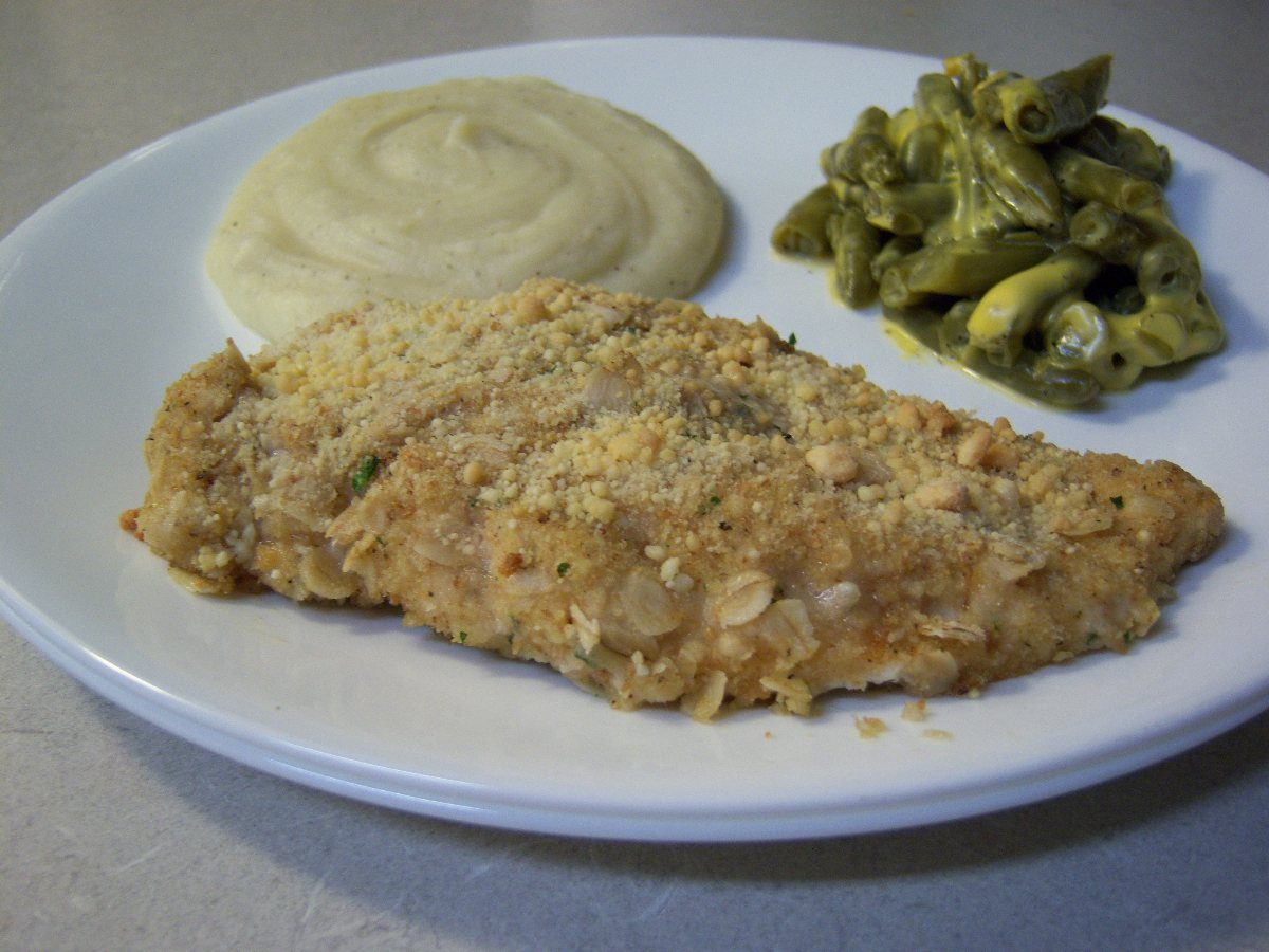 recipes course main dish poultry chicken crispy ranch oven fried