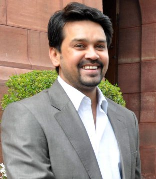 Anurag Thakur, General Sect. BCCI and President, HPCA