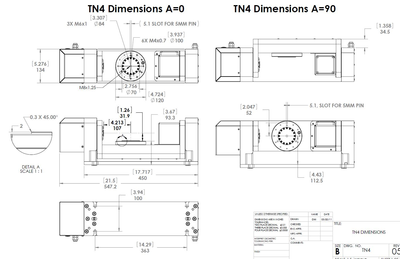 hight resolution of tn4 trunnion table