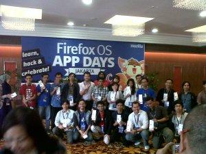 Peserta Firefox OS App Days