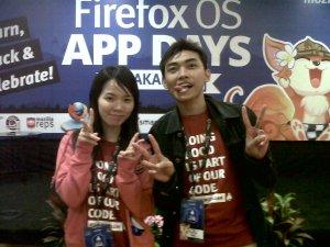 Firefox OS : MdarulM dan Evelyn Hung