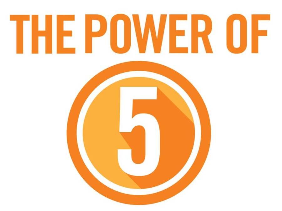 The Power Of Five To Feeling And Looking Good