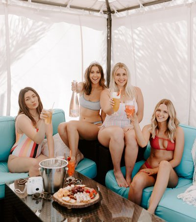 Murrieta Day Spa Cabana Rentals