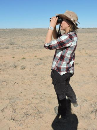 Doing some bird Monitoring in the Australian Outback (in & out of PAs)
