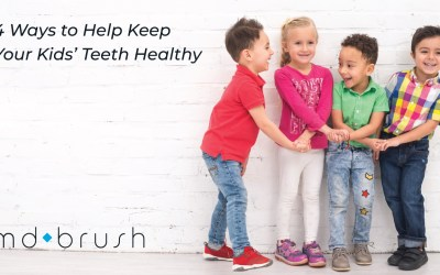 4 Ways to Help Keep Your Kid's Teeth Healthy
