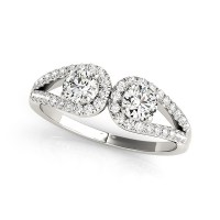 Horseshoe - European Engagement Rings from MDC Diamonds NYC