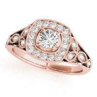 Vintage - European Engagement Rings from MDC Diamonds NYC