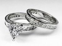 Engagement Ring -Trillion Diamond Bridal set Engagement ...