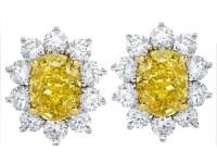 Oval - Diamond Earrings from MDC Diamonds NYC