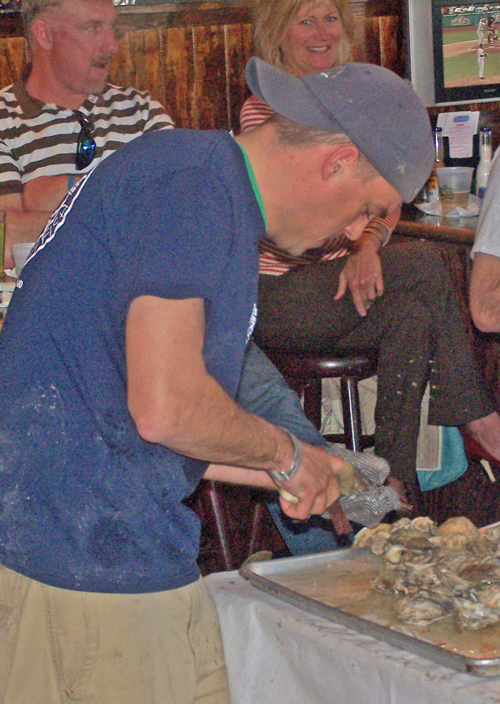 Oyster Shucking Contest 2013