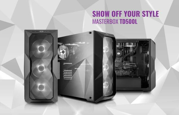 Cooler Master Masterbox Td500l In India