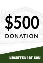 500 donation