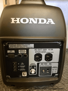Honda EU2000i My favorite generator for backup power