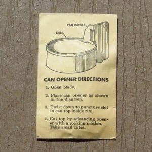 can opener instructions