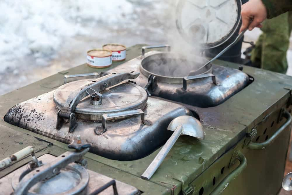 cooking off the grid