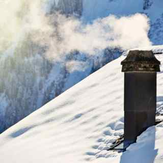 heating and cooking with a wood-stove