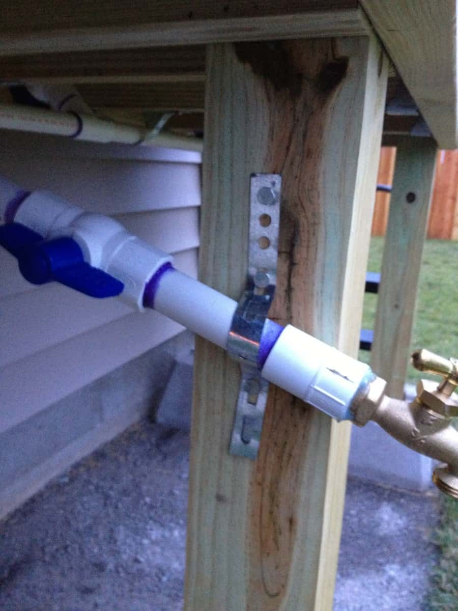 water catchment system for home use