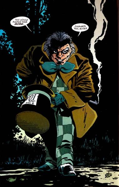 Chapelier Fou (comics) : chapelier, (comics), Chapelier, ENCYCLOPÉDIE, COMICS