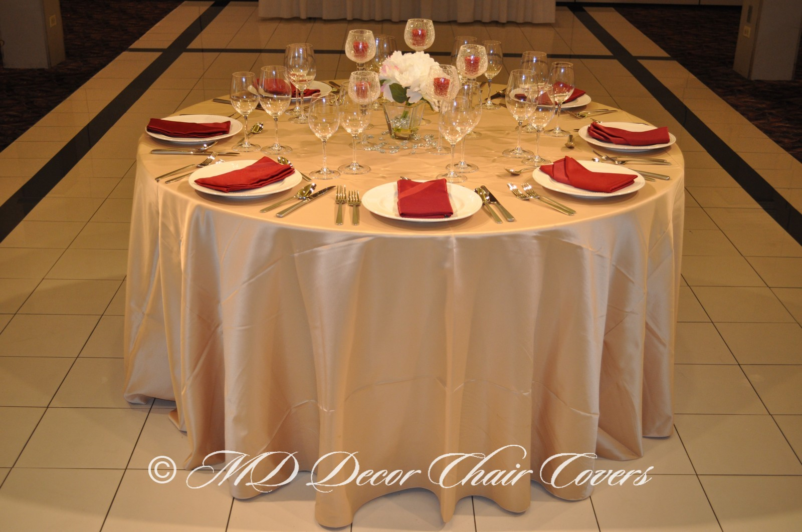 tablecloths and chair covers for rent cheap in bulk gold satin lamour tablecloth md decor party rentals