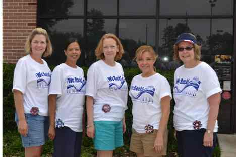 H-Town Rockers & Friends: Karen, Thelma, Carolyn, Tracine, Terri