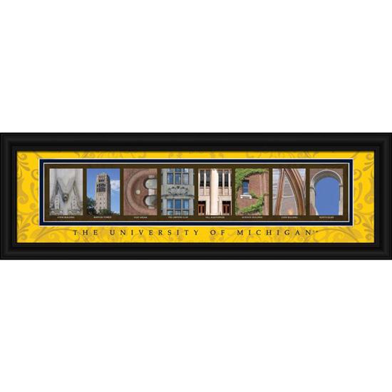 university of michigan framed