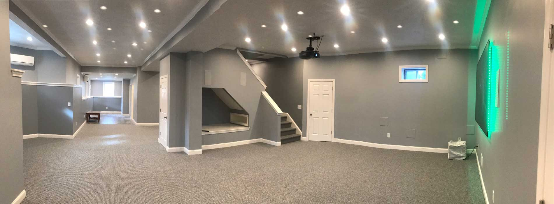 Basement Remodeling  MD England  Sons