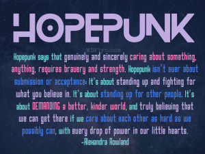 Hopepunk 1024x768 wallpaper
