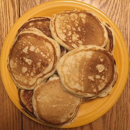 Pancakes for Fat Tuesday - small