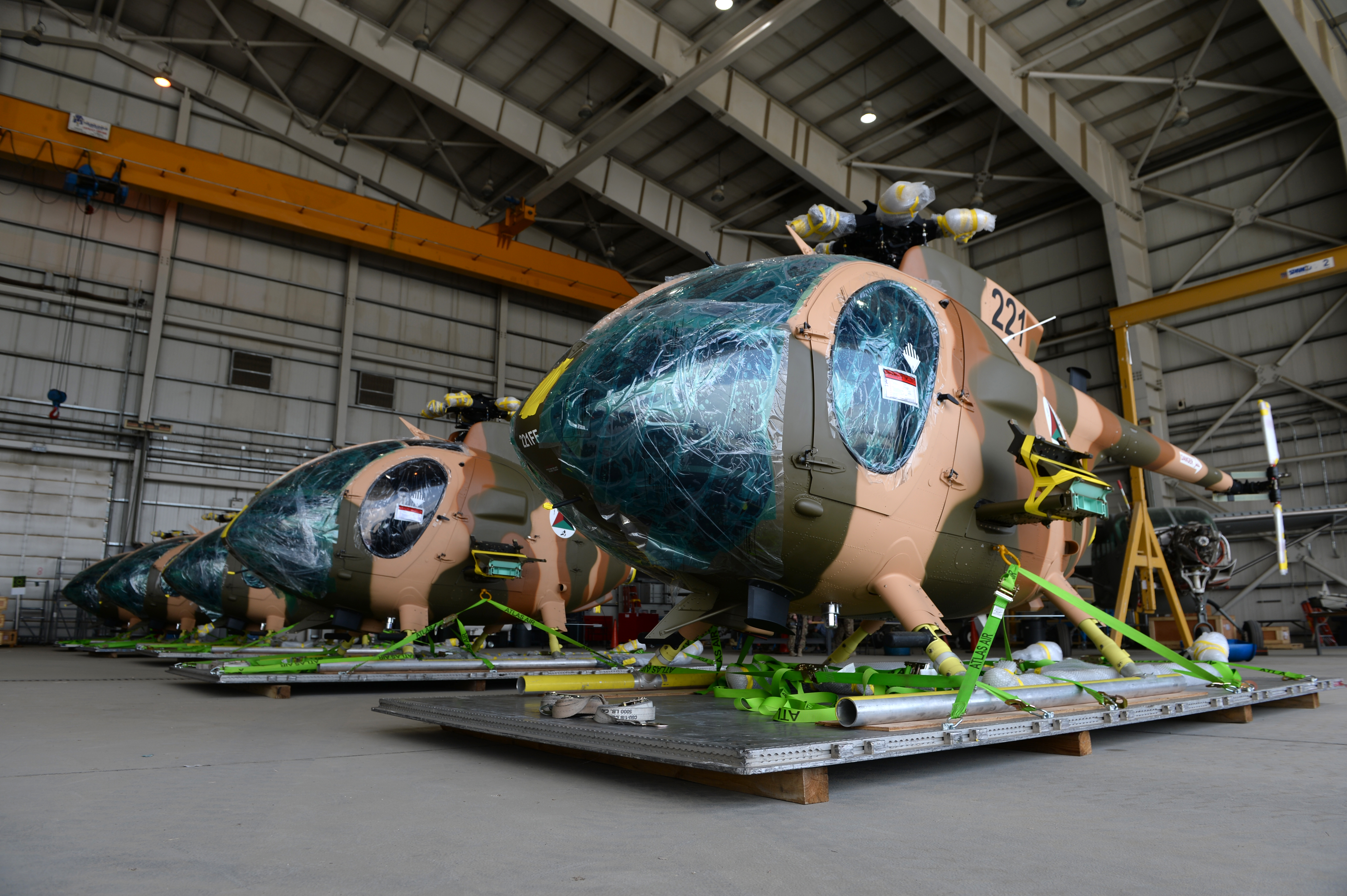 MD Helicopters Delivers First Six MD 530F Cayuse Warrior Scout Attack Helicopters to Afghan Air Force  MD Helicopters