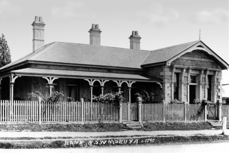 Bank of NSW, Vulcan Street, Moruya 1890