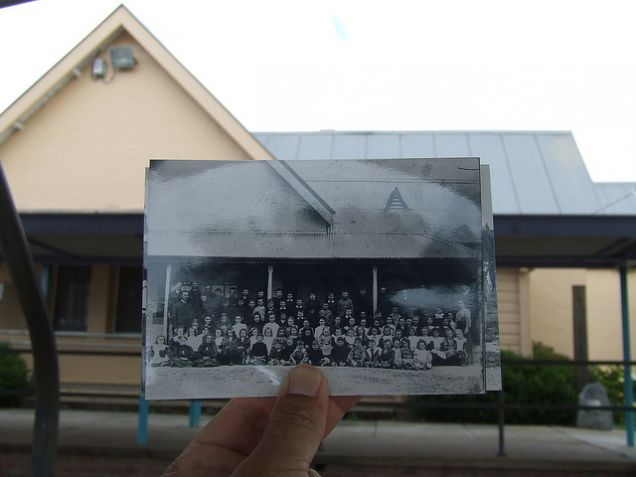 Moruya Public School - Then and Now
