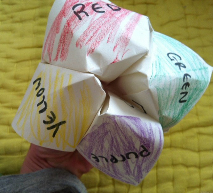 Remember these- and the little messages in the folds?