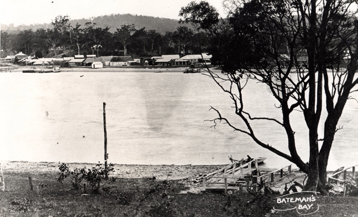 Batemans Bay before the bridge over the Clyde River was built