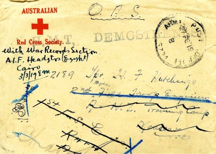 Letters were extremely important to the troops and to their families at home