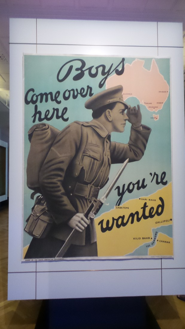 An early recruitment poster
