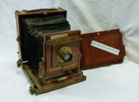 5x7 Bellows Plate Camera