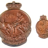 The Anzac Commemorative Medallion and Badge