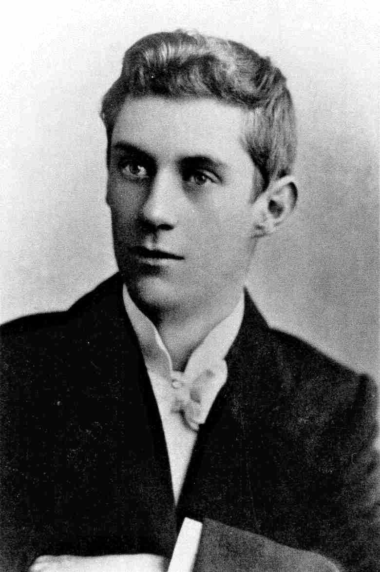 Abraham Forster Emmott as a young man