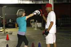 M. Diane McCormick, Adventure Chick, boxing
