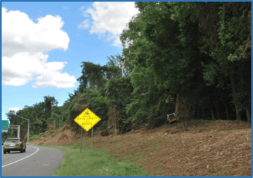 After — Exit Ramp from I-495 to MD185 (SHA Photo)