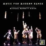 album cover for Music for Modern Dance
