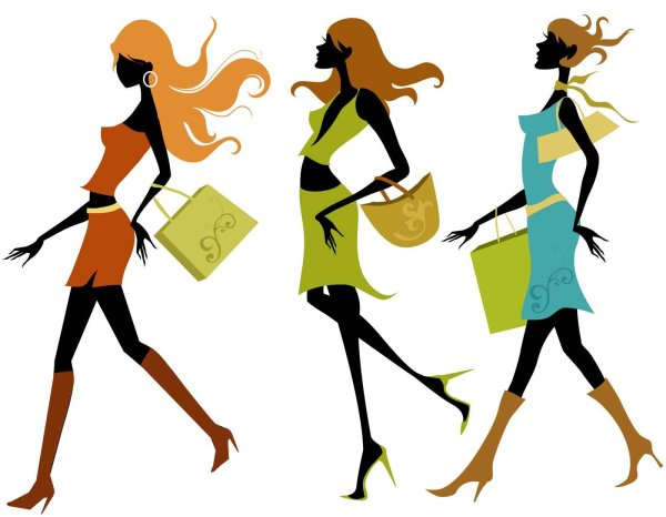 Ladies Fashion Show Clip Art