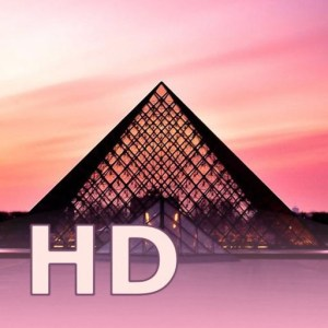 Louvre HD image not available