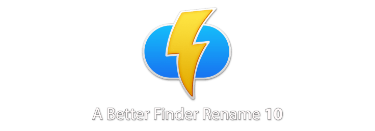 Better Finder Rename