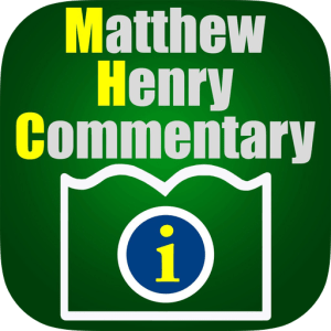Matthew Henry Commentary image not available