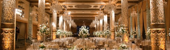 Drake Hotel Wedding Lighting
