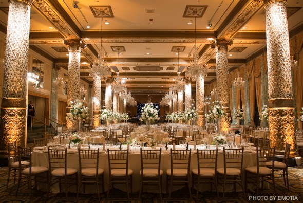 Wedding Lighting at The Drake Hotel