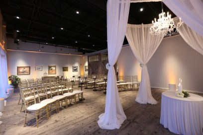 Wedding Chuppah and Uplights